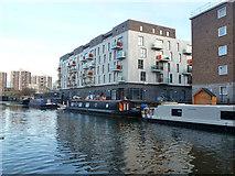 TQ3283 : Hoxton Wharf, Wiltshire Row, N1 by Robin Webster