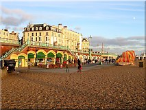 TQ3103 : Carousels, Kings Road Arches, Brighton by Simon Carey