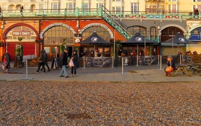Tempest Inn, King's Road Arches, Brighton