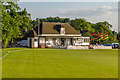 TQ2450 : Reigate Priory Cricket Pavilion by Ian Capper