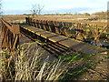TF3902 : Bailey bridge over Mortons Leam - The Nene Washes by Richard Humphrey