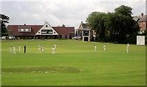SX9065 : Cricket match in progress, Torre by Derek Harper