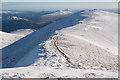 NN4322 : On the southern ridge of Stob Binnein looking towards Stob Coire an Lochan by Doug Lee