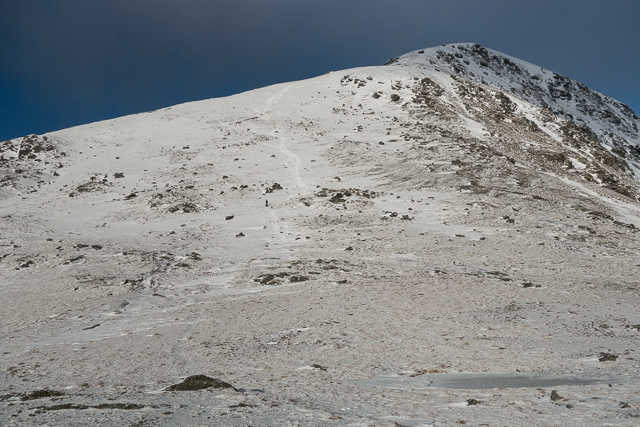 The southern ridge of Ben More viewed from the bealach