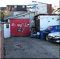 ST3087 : Beware of the Dog, Scard Street, Baneswell, Newport by Jaggery