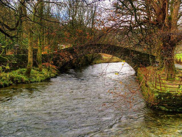 River Rothay and Miller Bridge, Ambleside