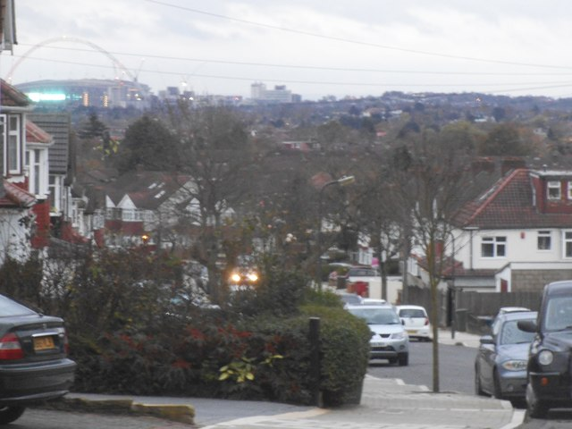 Wembley Park seen from Little Stanmore