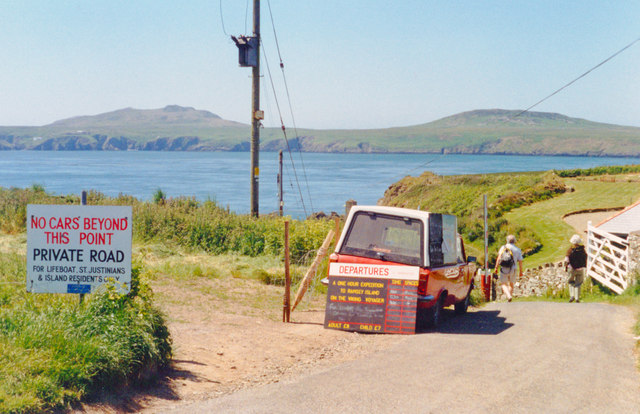 St Justinian's Haven and Ramsey Island, 1994