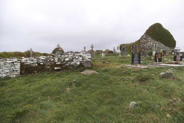 Myross graveyard - Myross Townland