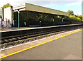 SJ5441 : Whitchurch (Shropshire) railway station canopy by Jaggery
