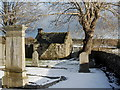 NJ8715 : Watch house, old Dyce kirkyard by Bill Harrison