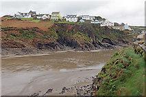 SM8513 : Little Haven Estuary by Alan Hughes