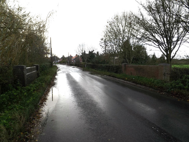 Bridge on the B1117 Laxfield Road