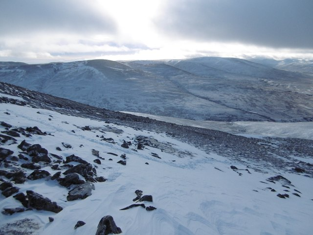 Slopes of Meall Chuaich