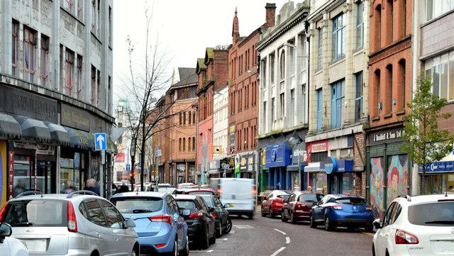 North Street, Belfast (November 2015)