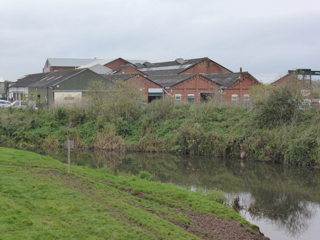 Former paper mill Creech St Michael