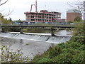 ST2325 : Weir on the River Tone, Taunton by Chris Allen