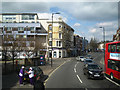 TQ3277 : North on Camberwell Road, approaching Walworth shops, London by Robin Stott