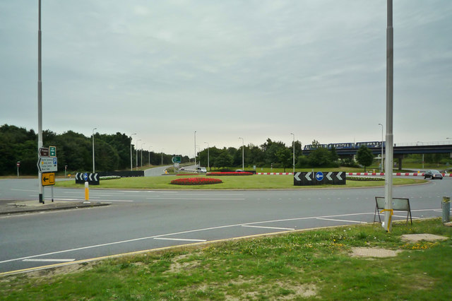 North Terminal Roundabout