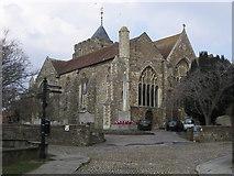 TQ9220 : St Mary's Church by Shaun Ferguson