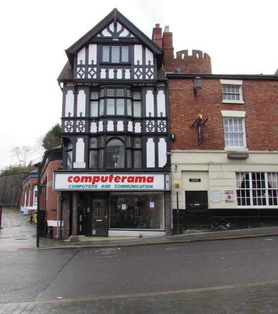 Former Computerama shop in Shrewsbury