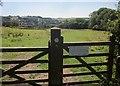 SY3393 : Gate on Wessex Ridgeway / Liberty Trail by Derek Harper