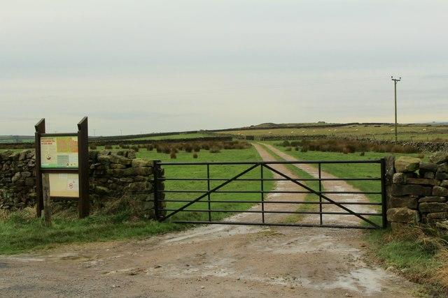 Towards Barden Moor and Barden Fell