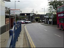 TQ2182 : Station Approach, Willesden Junction station by David Smith