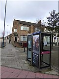 TQ2282 : Two phone boxes, Victor Road, Kensal Green by David Smith