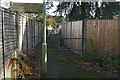 SU8061 : Walkway, Moulsham Green by Alan Hunt