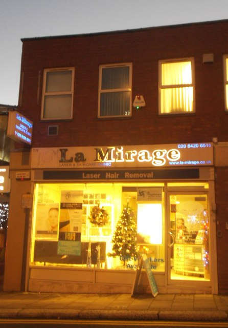 La Mirage laser hair removal, Stanmore Hill