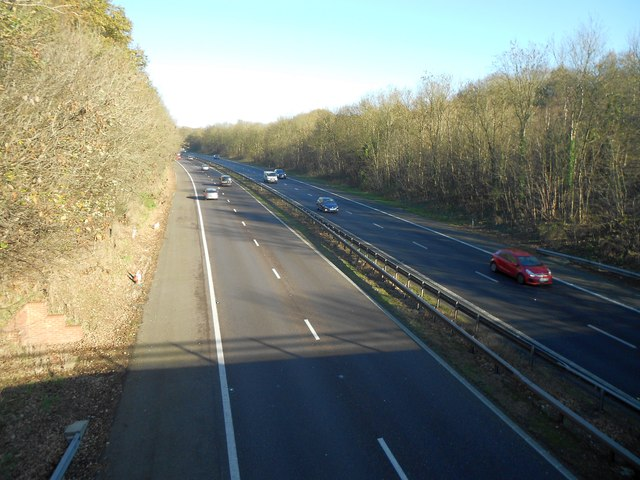 A1(M) near Welwyn Heath