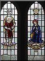 TQ2892 : St Paul, Woodland Road - Stained glass window by John Salmon
