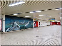 NZ2563 : Gateshead Metro Station (ticket concourse) by Andrew Curtis