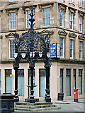 NS2876 : The Lyle Fountain, Cathcart Square by Thomas Nugent