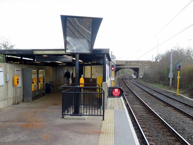 Hebburn Metro Station (Platform 1)