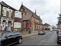 TQ2382 : St Martin's Church, Mortimer Road by David Smith