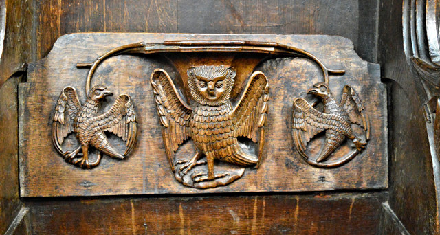 A Ludlow misericord by Philip Pankhurst