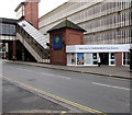 SJ4912 : Welcome to Shrewsbury Bus Station by Jaggery