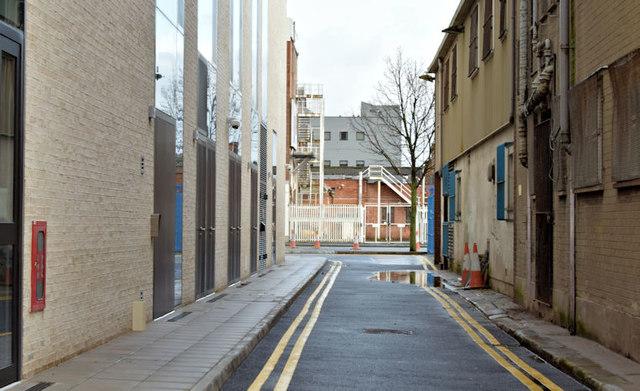 Clarke's Lane, Belfast (November 2015)