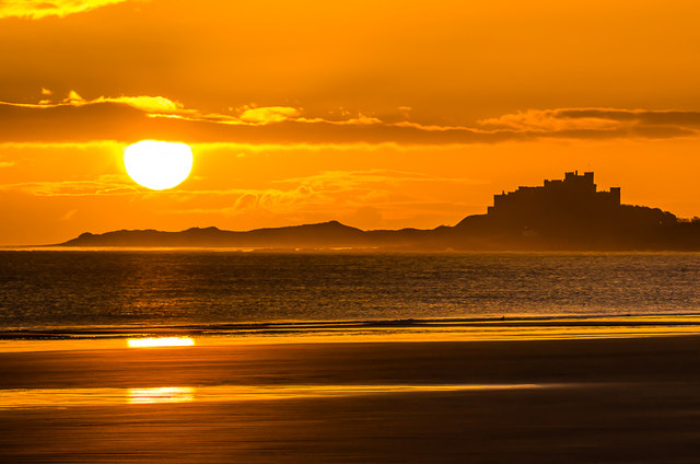 Sunrise at Ross Back Sands