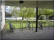 SE6250 : Cycle parking next to G022 by DS Pugh