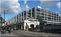 TQ2878 : Fountain Square, Buckingham Palace Road by Stephen Richards