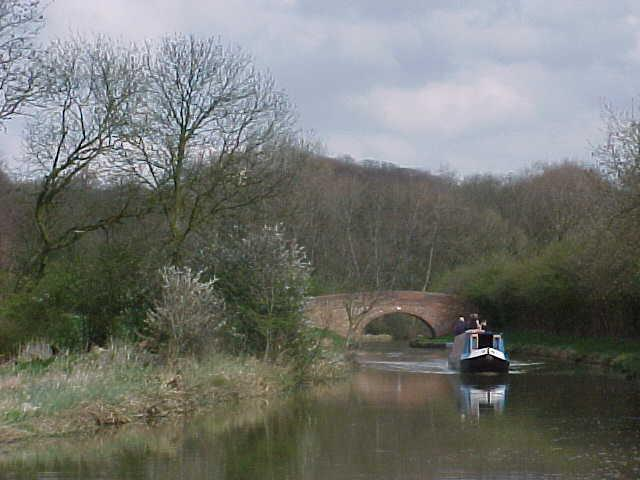 Bridge number 55 of the Leicester Arm of the Grand Union Canal