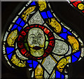 TA1311 : Medieval stained glass, All saints' church, Brocklesby by Julian P Guffogg