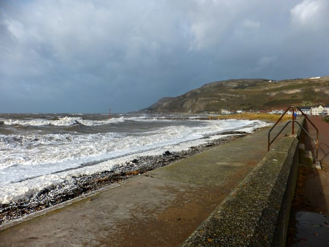 West Shore in a gale