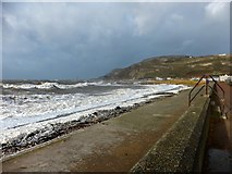 SH7781 : West Shore in a gale by Richard Hoare