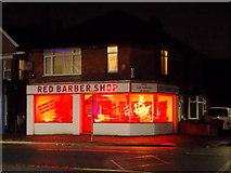 SZ0894 : Moordown: Red Barber Shop by Chris Downer
