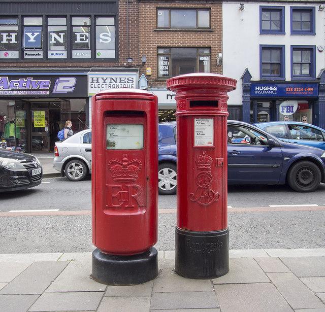 Pillar Boxes, Omagh