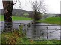 H4985 : Flooded ground, Gortin by Kenneth  Allen